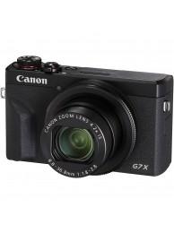 Canon PowerShot G7X Mark III, 20 MP, 4K, Negru + Acumulator Canon NB-13L